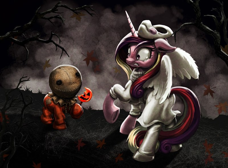 costume,halloween,ponify,nightmare night,princess cadence,trick r treat