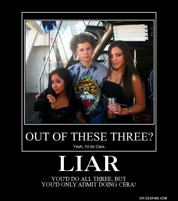 Admit it, Bubba...