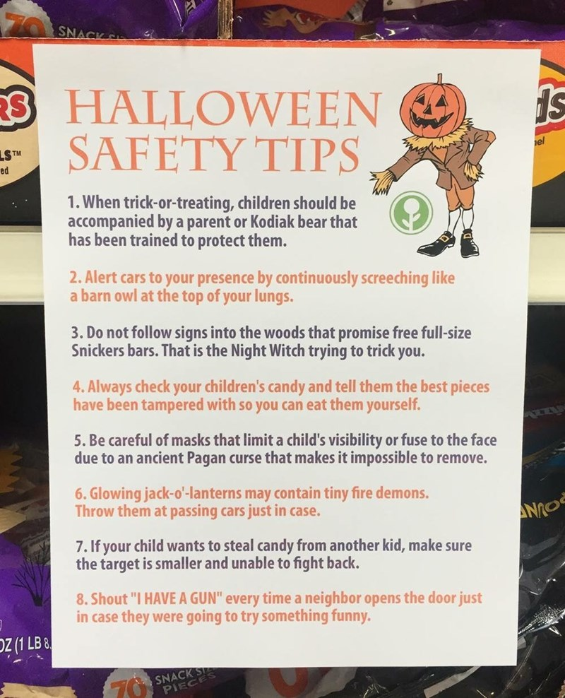 tips halloween pranks