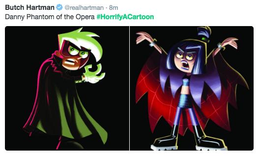 horror cartoon - Fictional character - Butch Hartman @realhartman 8m Danny Phantom of the Opera #HorrifyACartoon