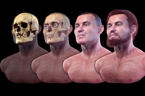 3d technology reconstructs face of 900-year-old-vampire