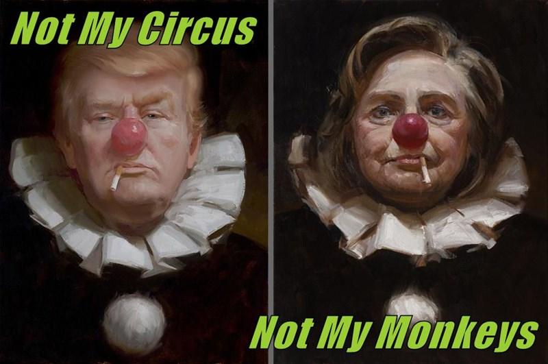 Not My Circus                                  Not My Monkeys