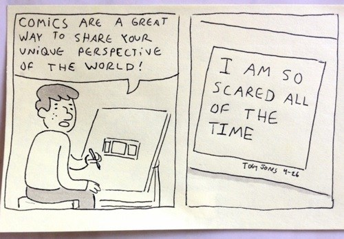 fear,sharing,web comics