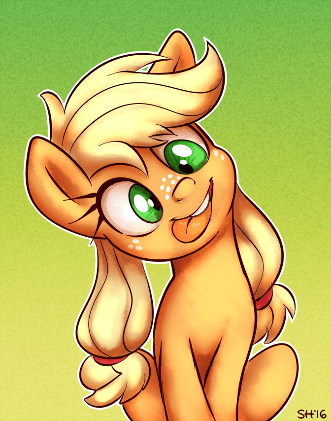 applejack silly - 8986397952