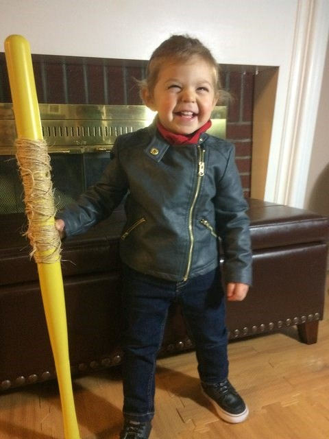 this baby negan brings a new meaning to pee pee pants city