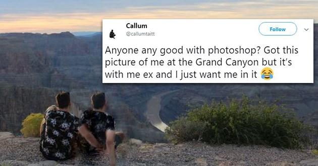 ex photoshop battle funny