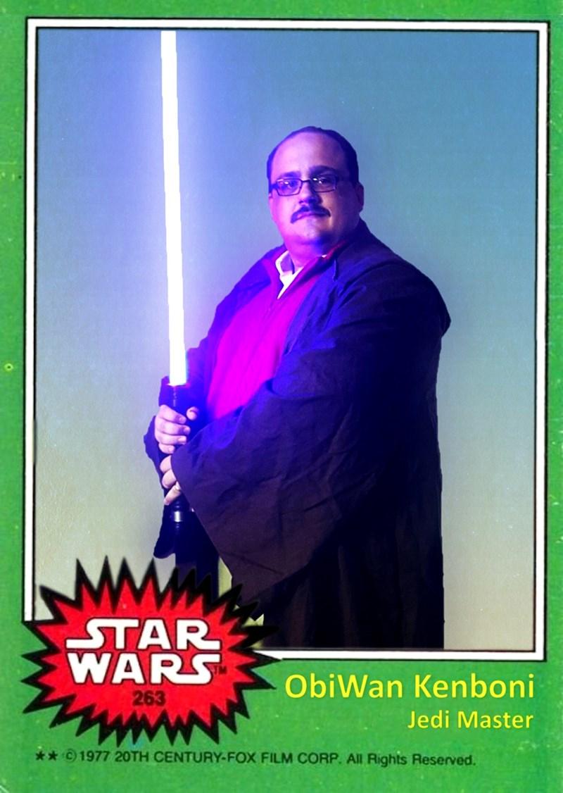 Poster - STAR WARS ObiWan Kenboni 263 Jedi Master **1977 20TH CENTURY-FOX FILM CORP. All Rights Reserved.