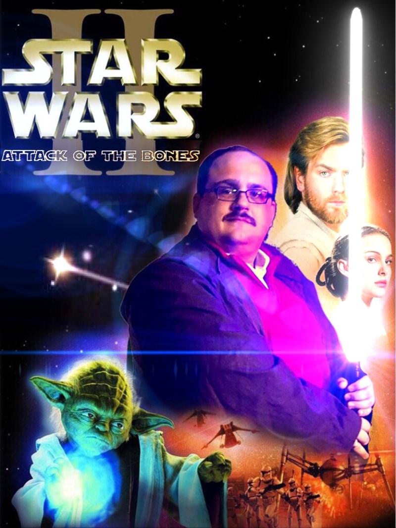 Movie - STAR WARS ATTACK OF THE BONES