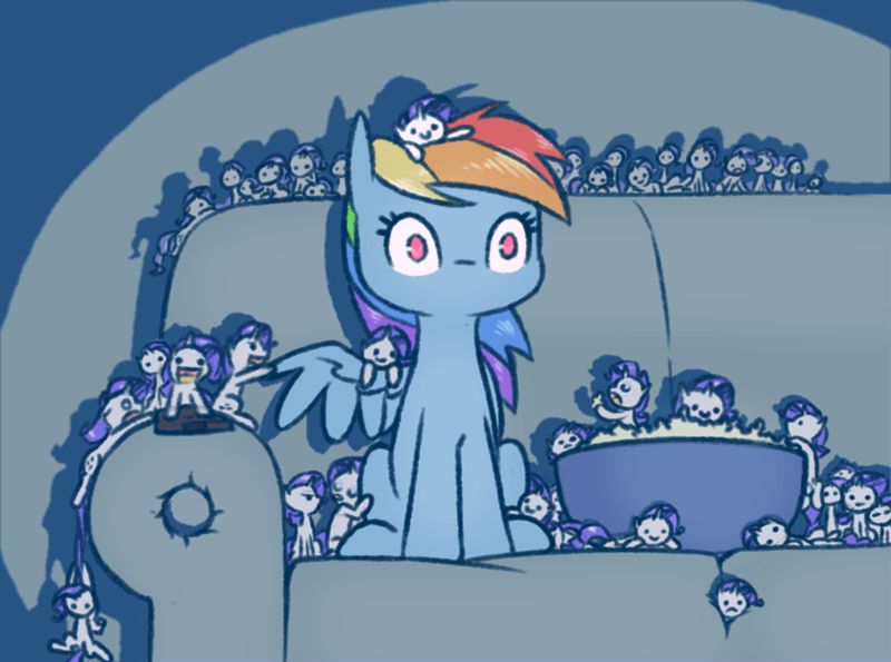 rarity rainbow dash - 8986925824