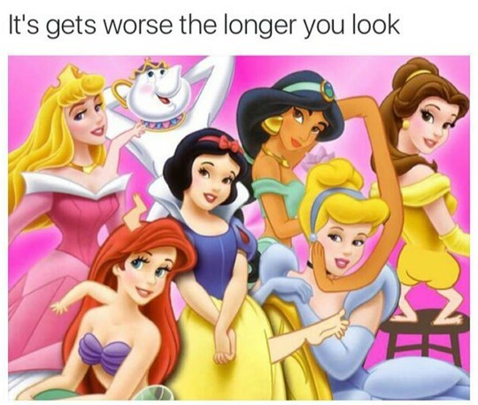 image disney princesses wtf - 8986928384