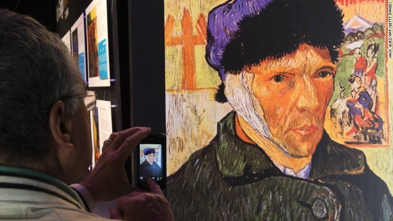 why van gogh cut ear off discovered