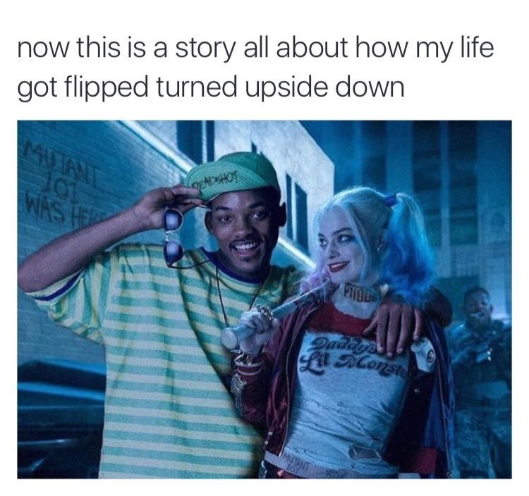 Fresh Prince of Bel-Air suicide squad image - 8987482624