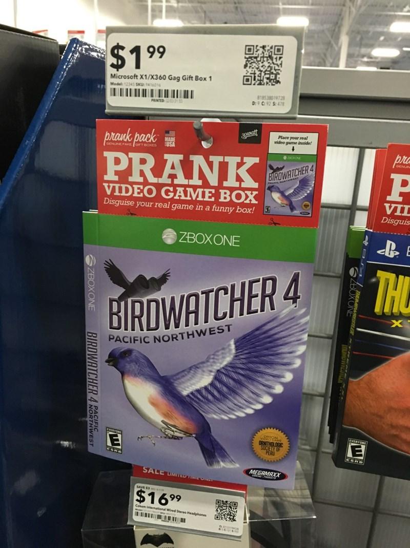 Videogames prank image - 8987491584