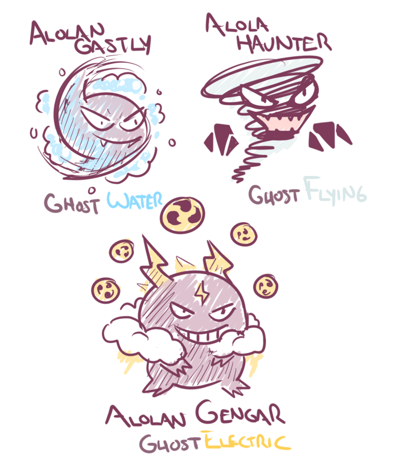 alolan-gastly-evolutions