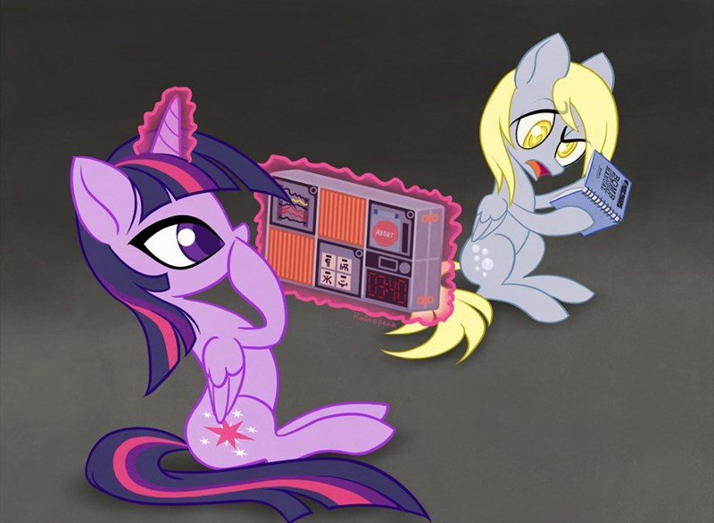 derpy hooves twilight sparkle keep talking and nobody explodes - 8988012800