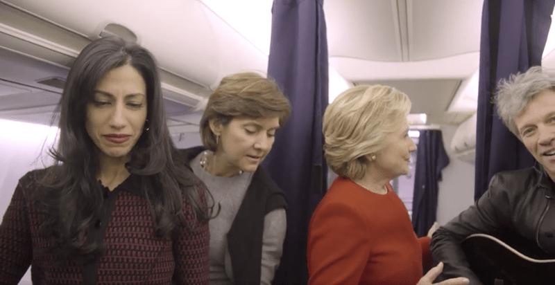 Hillary Clinton Jon Bon Jovi Shut Down The Mannequin Challenge Election Day