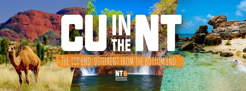 Australia tourism innuendo This Australian Tourism Campaign Wants to 'C U in the NT'