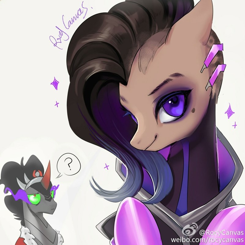 king sombra sombra overwatch ponify - 8988529920