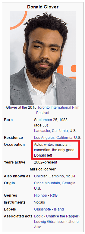 wikipedia Donald glover image - 8988813824