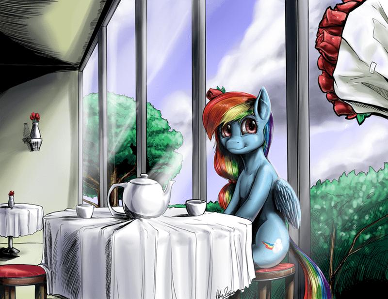 Teatime with Dash