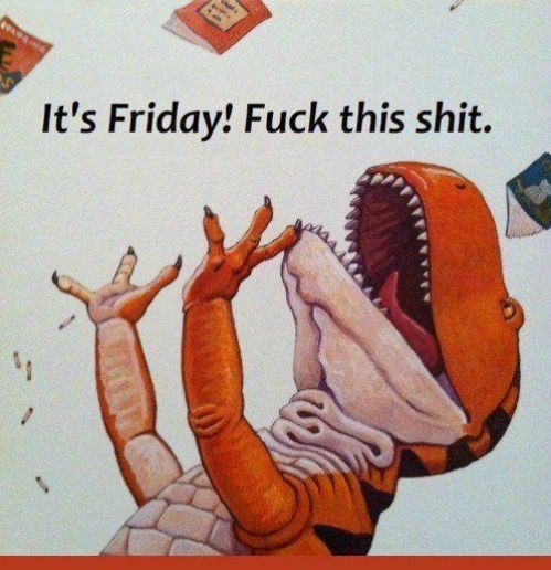 FRIDAY,celebration,dinosaurs