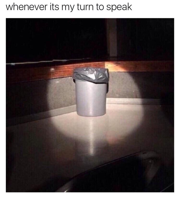 trash public speaking image - 8989236992