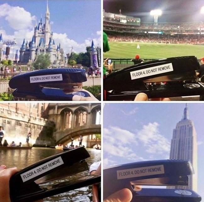 pranks stapler image - 8989734656