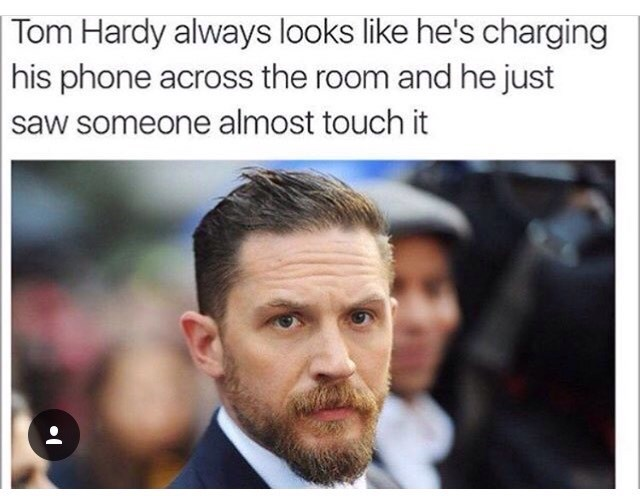 tom hardy cell phone image - 8989740288