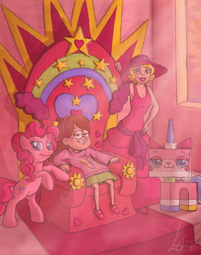 lego movie lego the princess and the frog unikitty gravity falls pinkie pie mabel pines - 8989876480