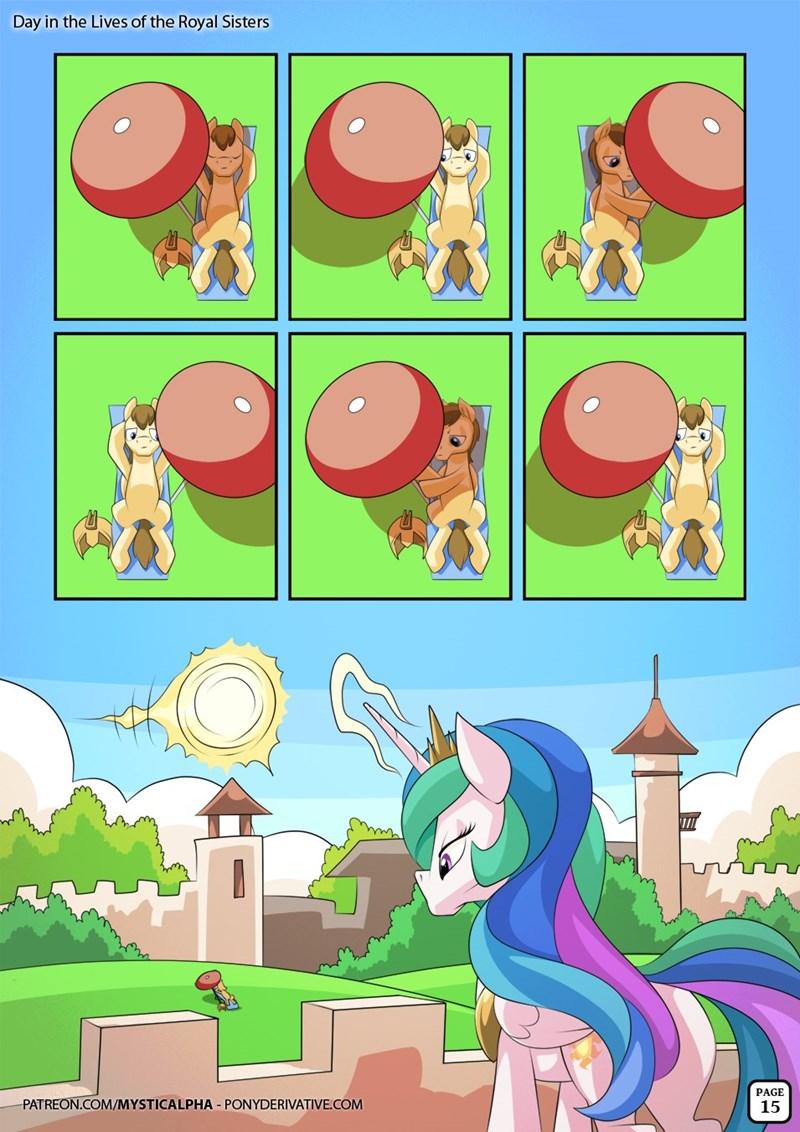 OC comic princess celestia - 8989996800