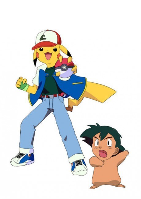 Pokémon Fan Art face swap - 8990225152