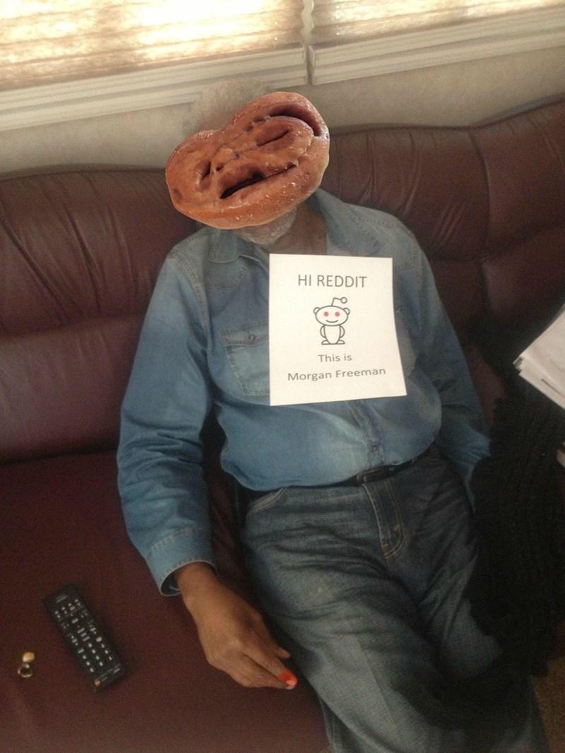Jeans - HI REDDIT This is Morgan Freeman ...