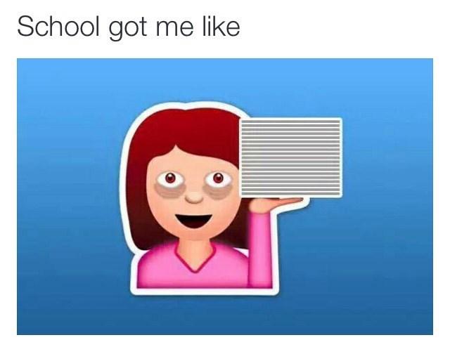 school emoji image - 8990497280