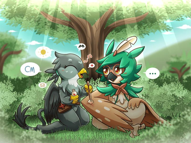 gabby,Pokémon,decidueye