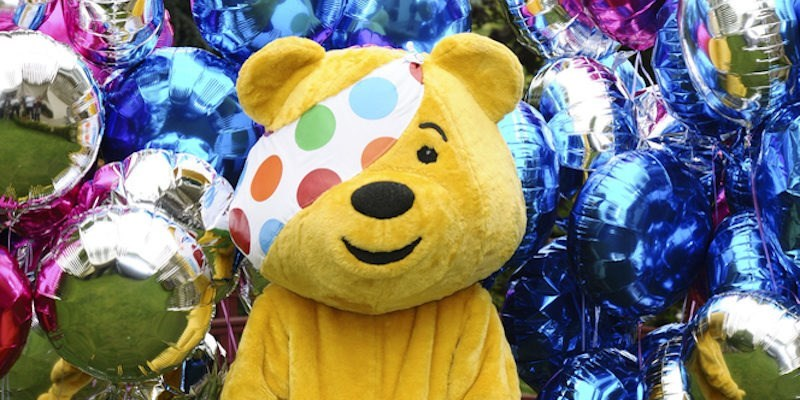 giant-pudsey-bear-imposter-photobombs-moms-picture-with-kid-in-very-crude-way