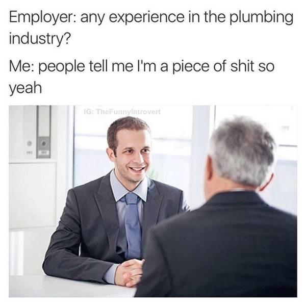 plumbing Memes interview image - 8991210240