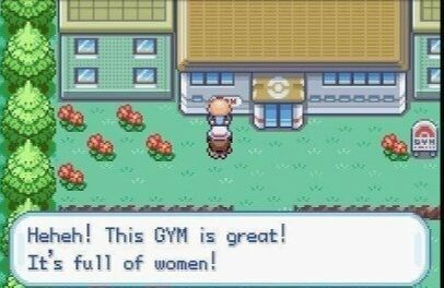 Green - Heheh! This GYM is great! It's full of women! WO