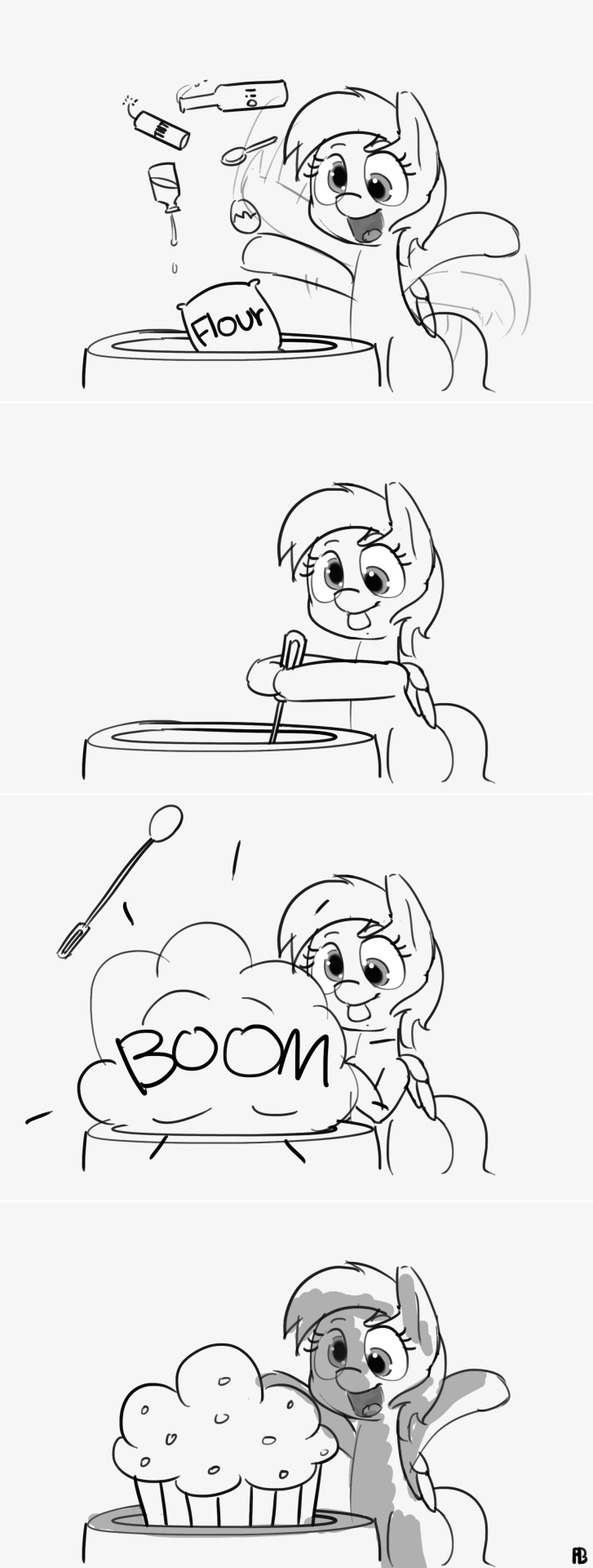 derpy hooves,comic,muffins