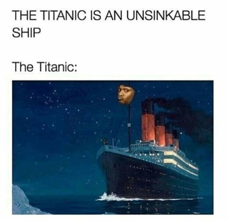 titanic Memes image - 8992717824