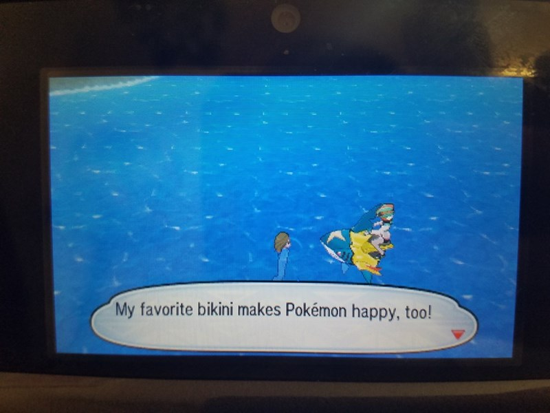 Screen - My favorite bikini makes Pokémon happy, too!