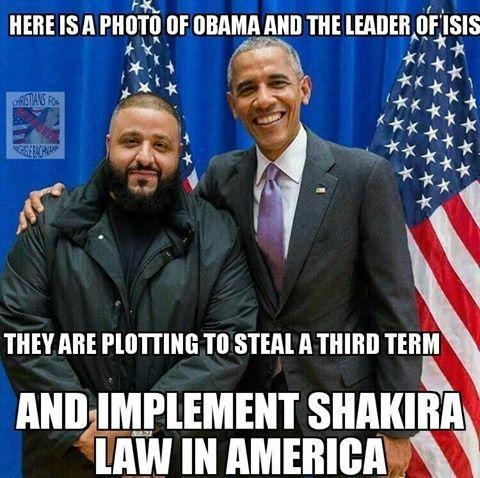 image memes dj khaled Obama and D.J. Khaled Dream of an America With Hips That Don't Lie