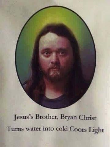 jesus beer parody image