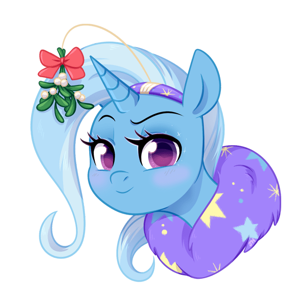 mistletoe the great and powerful trixie - 8992979456