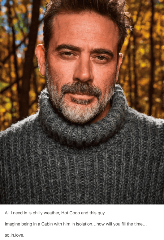 Close up photo of Jeffery Dean Morgan