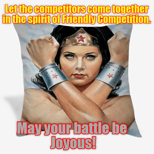 I endorse the Pillow Fyte 2016.