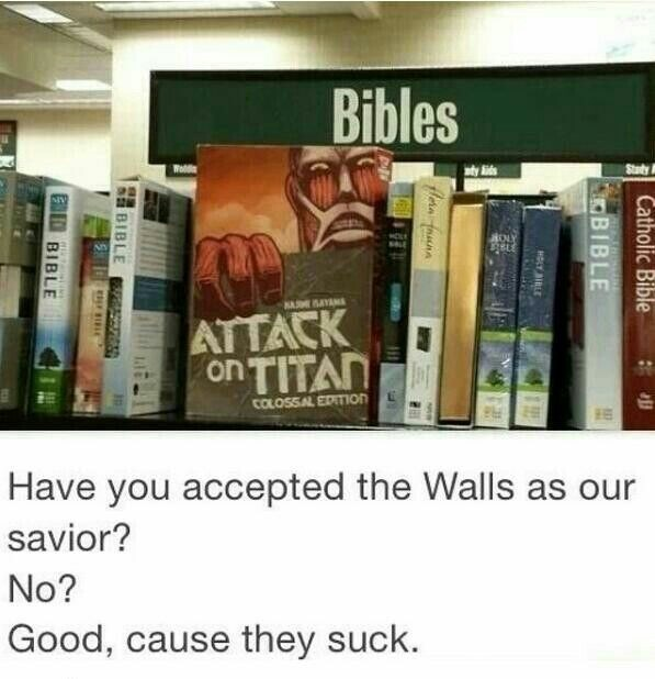 walls,attack on titan