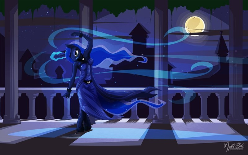 princess luna anthropomorphic - 8993787136