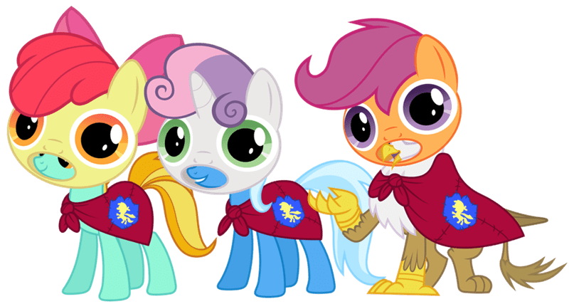 the great and powerful trixie powerpuff girls lightning dust Sweetie Belle apple bloom gilda nightmare fuel ponify Scootaloo - 8994114816