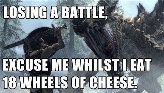 Font - LOSING A BATTLE EXCUSE ME WHILSTI EAT 18 WHEELS OF CHEESE