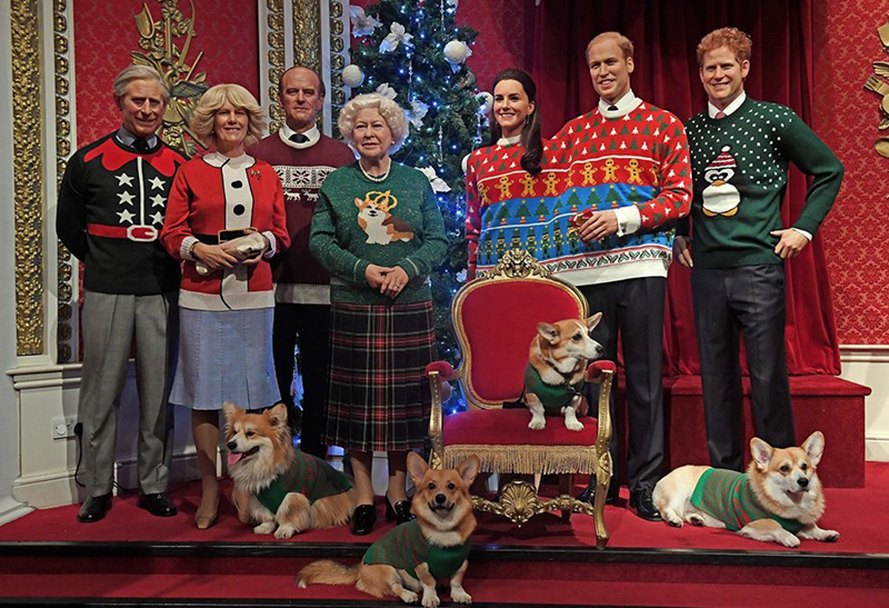 image ugly christmas sweaters Even England's Royal Family Is Wearing Ugly Christmas Sweaters This Season